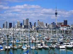 City of Sails - Auckland, New Zealand. My all time favorite place in the world.
