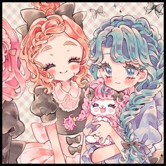 埋め込み Pretty Drawings, Art Drawings Sketches Simple, Kawaii Drawings, My Drawings, Pretty Cure, Kawaii Art, Kawaii Anime, Glitter Force Toys, Glitter Vinyl