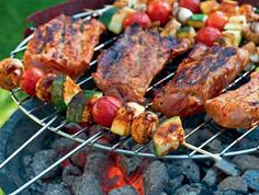 From start to finish, we've got your next BBQ menu covered. Check out these 35 super-easy, but totally impressive, ways to feed your guests. Perfect Steak, Best Dishes, Served Up, Tandoori Chicken, Barbecue, Catering, Yummy Food, Meals, Cooking