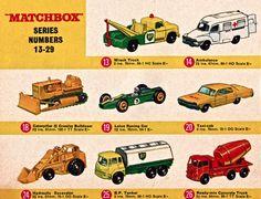 Matchbox Models by Lesney