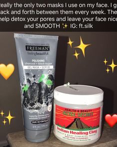 Skin Care help for smooth and glowing face - Whip smart face skin care steps and ideas. healthy skin care face simple image reference 1869469819 produced on 20190316 Face Skin Care, Diy Skin Care, Skin Care Tips, Freeman Face Mask, Aztec Clay, Gel Mask, Skin Care Remedies, Best Face Products, Facial Products