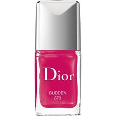 DIOR Dior Vernis ($25) ❤ liked on Polyvore featuring beauty products, nail care, nail polish, christian dior, gel nail color, gel nail polish and shiny nail polish