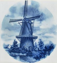 Vintage windolen, Munnik Mosa, Holland