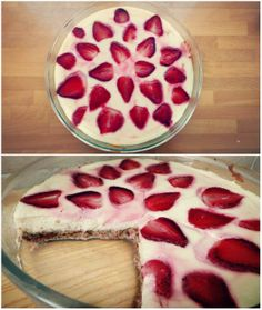 Gluten-Free Strawberry Protein Cheesecake