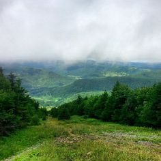 Atop Snowshoe Mountain