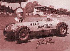 #21 Johnny Parsons (Usa) - Kurtis Kraft 500B (Offenhauser 4) 26 (8) crankshaft
