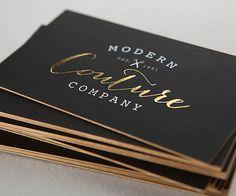 Cartes de visite personnalisée exceptionnelle fait couleur (Qté 500) imprimées sur un épais très doux au toucher. Soft touch est une très belle finition,
