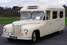 Daimler LRW178 ambulance, 1951. Vintage Ambulance Car.