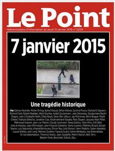 """Manuel Valls exprime son """" dégoût """" après la une du Point montrant l'exécution d'un policier par les terroristes - Le Lab Europe 1"""