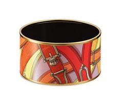 Cavalcadour enamel bracelet