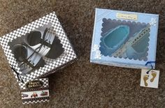 Hand Crafted Luxury Cards  and Bargains:   Finished this project with pretty box and label...