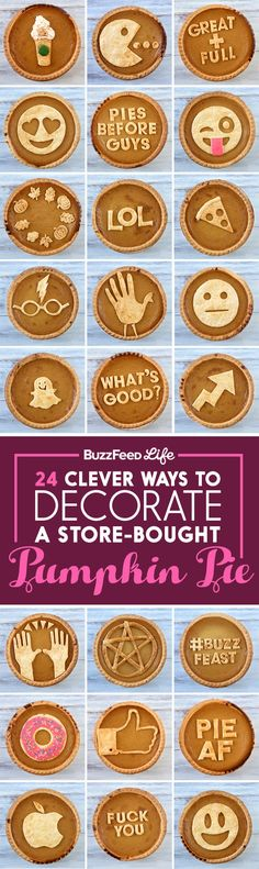 24 Clever Ways To Decorate A Store-Bought Pumpkin Pie
