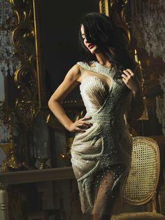 Justyna Steczkowska. Projekt sukienki Patrycja Pagas. Beautiful Women, Formal Dresses, Lady, People, How To Wear, Style, Fashion, Dresses For Formal, Swag
