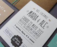 le pou - grafica para eventos - invitaciones Vintage Invitations, Wedding Invitations, Dream Wedding, Wedding Day, Save The Date, Ideas Para, Wedding Cards, Rustic Wedding, Card Making