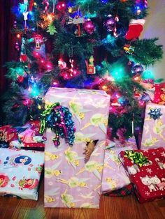 The zombie doll | 21 People Who Got Creative With Their Gift Wrapping