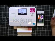 How to use the Canon Selphy Printer for Project Life by Stampin' UP! - YouTube Birthday Crafts, 70th Birthday, Canon Selphy, Improve Photography, Digital Scrapbooking, Scrapbooking Ideas, Photo Storage, Camera Hacks, Photo Printer