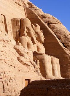 8-daagse luxe nijlcruise van ECI reizen met manlief in 2008. Abu Simbel