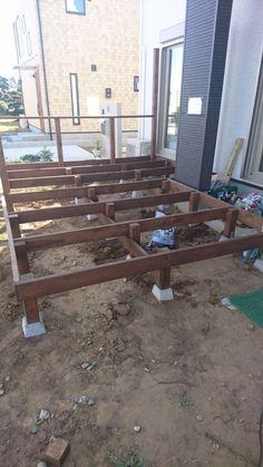 Cool Deck, Diy Deck, Deck Design, House Design, Deck Building Plans, Japan Garden, Master Bedroom Bathroom, Deck Construction, Wooden Pallet Projects
