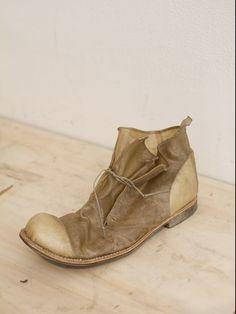 Boris Bidjan Saberi's Transparent Lamb Leather Shoe
