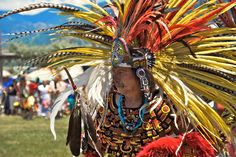 Native American Pow Wow, music, beauty, crafts and great food.