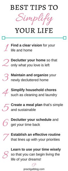 These are the best ways to begin simplifying your life. Find out how to simplify your life in all of these ways! The Simplify My Life! Starter Kit will help you with simplifying all of these areas so that you can start your simple living or minimalism journey today.