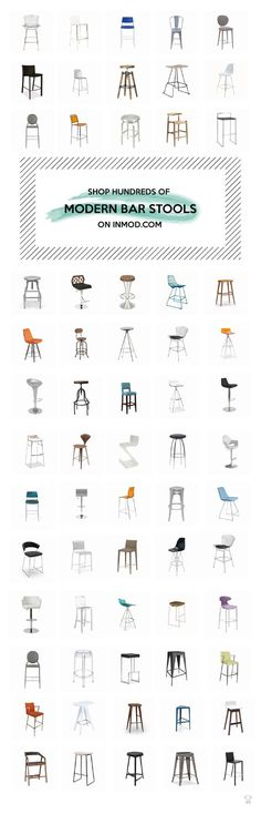Shop hundreds of modern stools for your kitchen and bar on ! Apartment Kitchen, Home Decor Kitchen, Kitchen Furniture, Furniture Decor, Home Kitchens, Furniture Design, Kitchen Modern, Furniture Styles, Plywood Furniture