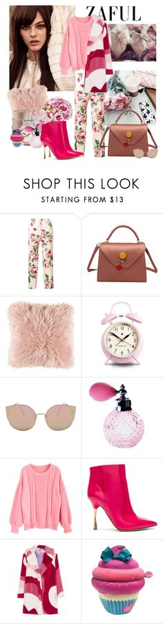 """Untitled #838"" by moni4e ❤ liked on Polyvore featuring Dolce&Gabbana, Surya, Newgate, Valentino and VIVETTA"