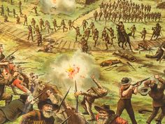 Boer defense against a British charge