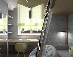"""Check out new work on my @Behance portfolio: """"Детская комната со вторым этажом"""" http://be.net/gallery/52793065/detskaja-komnata-so-vtorym-etazhom"""