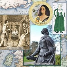 Grace O'Malley, the 16th Century Pirate Queen of Ireland…  In-honor of International Talk Like a Pirate Day…. Sept. 19th
