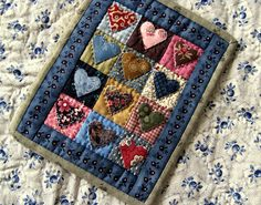 "I saw this at A Sentimental Quilter and instantly blurted out:  ""That's Darling!""  I'm making it!"