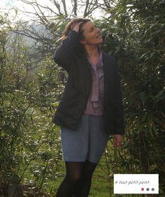 Ma veste Michelle, ma copie pour le défi Breizh