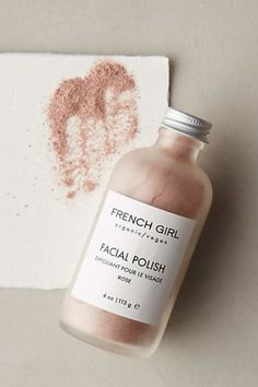 French Girl Organics Facial Polish. This line of all-natural, earth-friendly treats is made from locally sourced ingredients on a Seattle farmstead and inspired by the founder's abiding love of all things French. Unusual botanicals - sea buckthorn oil, tamanu extract, frankincense powder and pomegranate tincture, to name a few - make these wildcrafted formulas a delight for the skin and the senses.