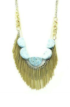 Mira este artículo en mi tienda de Etsy: https://www.etsy.com/listing/229358566/semi-precious-turquoise-stone-tossel