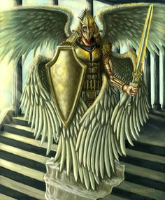 Seraph Angel Journal> Seraph Angel At The Temple> Angel Art Gifts Order Of Angels, Angels Among Us, Angels And Demons, Male Angels, Fantasy Kunst, Fantasy Art, Dark Fantasy, Seraph Angel, Angel Warrior