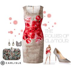 Carlisle: Garden party by carlislecollection on Polyvore featuring Jimmy Choo, Zara, Aurélie Bidermann, Alexis Bittar, cocktaildress, CarlisleCollection and Spring2015