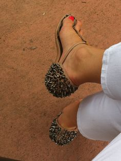 LOVE THEM!!! I have these in heels and really want the flats!