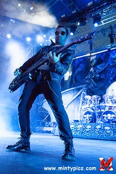 Avenged Sevenfold performed live in Mt. Pleasant, MI on July 19th, 2013