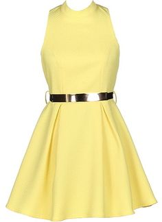 Hello Yellow Dress by Rickety Rack