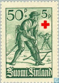 Finland - Red Cross 1940