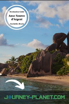 Anse Source d'Argent, a beautiful beach in the Seychelles! Seychelles Beach, Beach Holiday, The World's Greatest, Weekend Getaways, Luxury Travel, Beautiful Beaches, Travel Inspiration, Planets, Safari