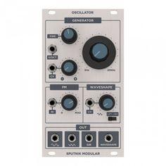 Sputnik Modular - OSCILLATOR is in stock!
