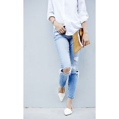 Obsessed The White Blazer ❤ liked on Polyvore featuring backgrounds