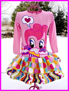 girls My Little Pony Pinky Pie graphic tee by BlossomBlueBoutique, $36.99 My Little Pony Dress, My Little Pony Birthday, My Lil Pony, My Little Pony Party, Kylie Birthday, 9th Birthday, Pinky Pie, Ponies, Mlp