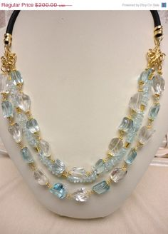 on sale 10 off statement necklace.if heaven by veroniquesjewelry, $180.00