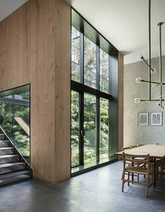 Copenhagen Warehouse Conversion With A Green Heart Follow Gravity Home: Blog - Instagram - Pinterest - Bloglovin