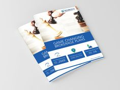 Brochure Design done for Enrich Broking - Best Brochure Designing Company in Chennai