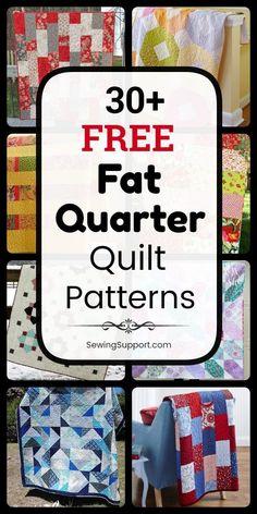 Fat Quarter Quilt Patterns (Free)