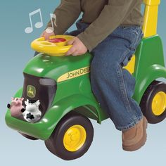 toddler ride on tractor