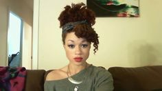 Tutorial: Rihanna Inspired Protective Styling (for the styling challenged) on Natural Hair